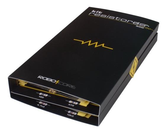 Kit Com 500 Resistores De Diversos Valores
