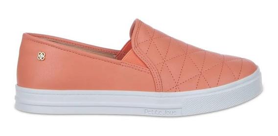 Tênis Lupita Petite Jolie Peach Slip On J4247