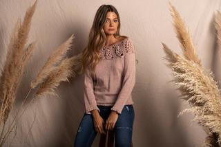Sweater Con Crochet