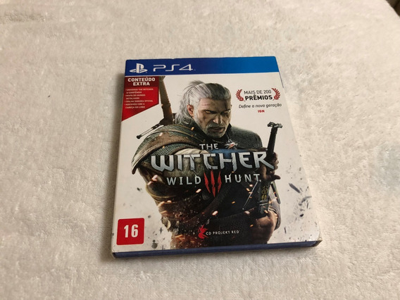 The Witcher Wild Hunt Com Mapa E Cd De Trilha Sonora