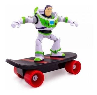 Toy Story Buzzlightyear Original Con Skate Tamaño Grande