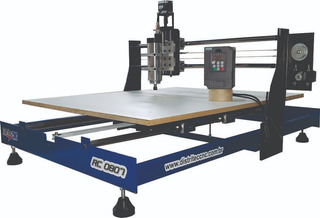 Router Cnc 1000x700mm-drivers Prof. C/ Spindle 1cv
