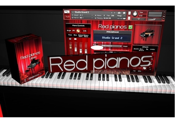 Red Pianos V1.1 (entrega Download) Kontakt