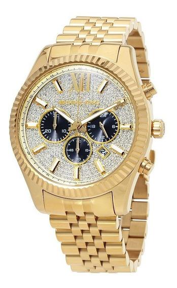 Relógio Michael Kors Relógio Dos Homens Lexing-mk8494