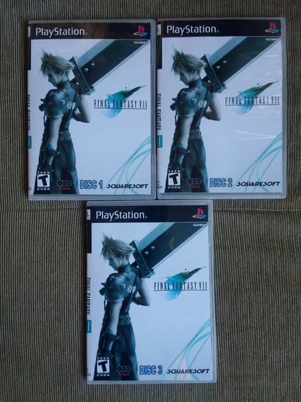 Final Fantasy 7 Legendado Para Playstation 1 - Patch