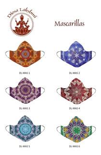 Mascarillas Tapabocas India Style Exclusivos