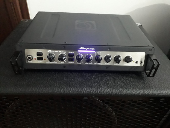 Ampeg Pf-500 Amplificador Cabeçote Para Baixo + Nf + Bag