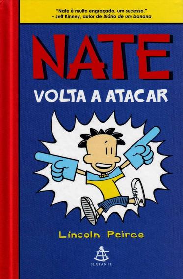 Nate Volta A Atacar Livro Lincoln Peirce Frete 9