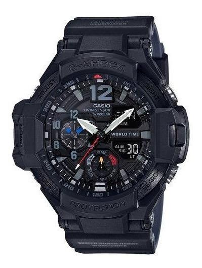 Relógio Casio G-shock Gravitymaster Preto Ga-1100-1a1d