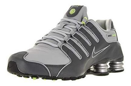 Tênis Nike Shox Nz 378341-009 Chumbo -original-nota Fiscal