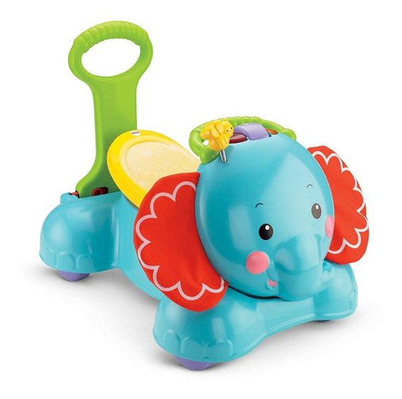Andadera Elefante Fisher Price 3 En 1