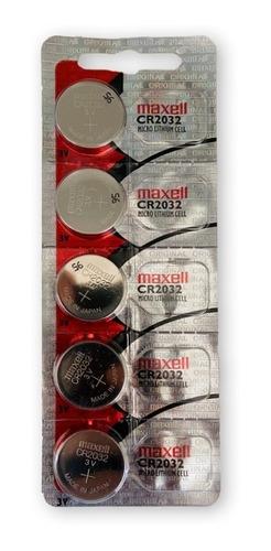 Imagem 1 de 3 de Bateria Maxell Cr 2032 Placa Mae Balança Eletronica