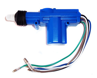 Motor Bloqueo Central Pistola 5 Cables Repuesto Puerta Carro
