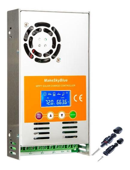 Controlador De Carga Solar Mppt 60a Makeskyblue 12/24/36/48v