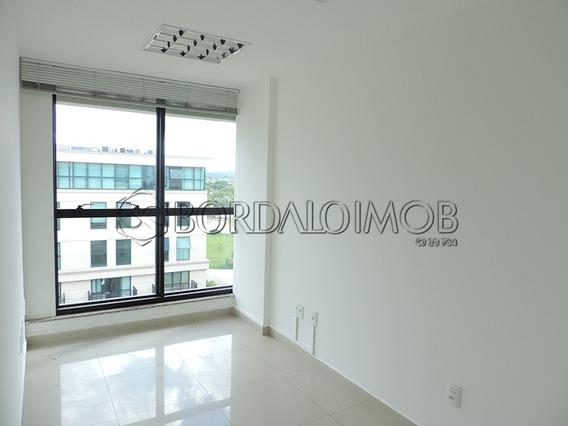 The Union - Sala Comercial Com 30,88m², Dividida, Ar Condicionado, Persiana, 01 Vaga De Garagem. - Villa120962