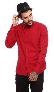 Camisa Opera Rock Estampada Vermelha - G