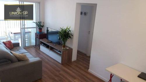 Imagem 1 de 22 de Apartamento Com 2 Dormitórios À Venda, 63 M² Por R$ 850.000,00 - Brooklin - São Paulo/sp - Ap51192