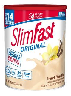 Slim Fast Original French Vanilla