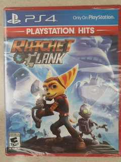 Ratchet & Clank Ps4 Hits Nuevo Sellado Fisico