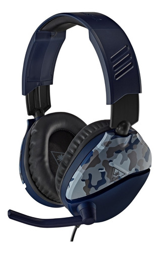 Auricular Ps4 Pc Xbox Turtle Beach Recon 70 Azul Camuflado