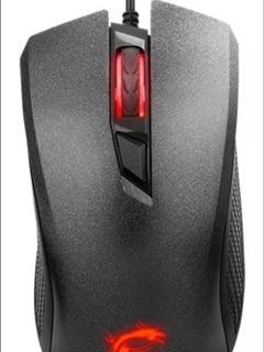 Mouse Msi Clutch Gm10 Opticol 2400dpi Gaming Black