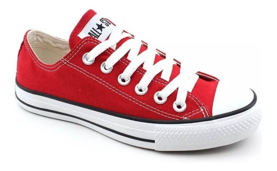 Tenis Feminino All Star Converse Cano Baixo Ct114 Original