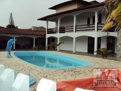 Sobrado Na Praia, À Venda, Canoas, Pontal Do Paraná - So0338. - So0338