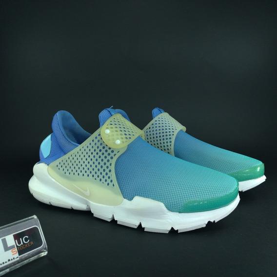 Tênis Nike Sock Dart Feminino Breathe Blue 100% Original