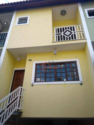 Sobrado À Venda, 125 M² Por R$ 490.000,00 - Vila Taquari - São Paulo/sp - So0087