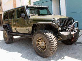 Jeep Wrangler Unlimited Willys Wheeler 6.4lts,2015modificado