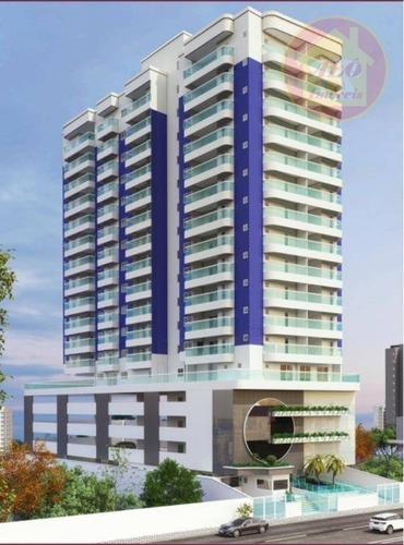 Apartamento À Venda, 88 M² Por R$ 378.000,00 - Aviação - Praia Grande/sp - Ap4203