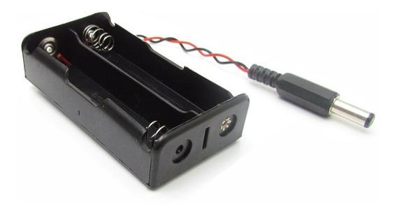 Suporte Para 2 X Bateria 3,7v Mod. 18650 - Arduino Raspberry