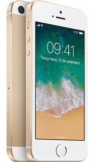 iPhone 5 Se 32gb Dourado Ios 4g Câmera 12mp- Desbloqueado