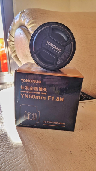 Lente Youngnuo 50mm 1.8 Af