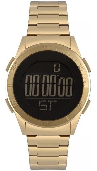 Relógio Technos Feminino Skydiver Dourado Bj3361ab/4p