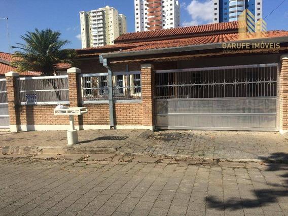 Casa Com 4 Dormitórios À Venda, 272 M² Por R$ 880.000 - Bosque Dos Eucaliptos - São José Dos Campos/sp - Ca0071