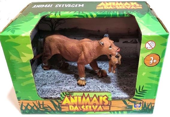 Animal Selvagem - Animais Da Selva - Leoa Terraco