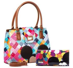 Bolsas Mickey Femininas Atacado Kit 8 Bolsas Com Carteira