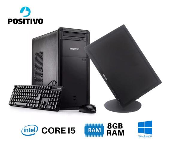 Pc Completo I5 8gb 320gb Monitor 19