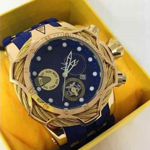 Relógio Masculino Bolt Reserve Zeus Magnum Thunder+caixa