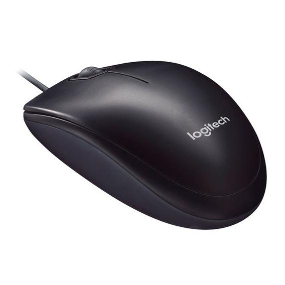 Mouse M90 Usb Com Fio Logitech M90 Preto Com Nfe