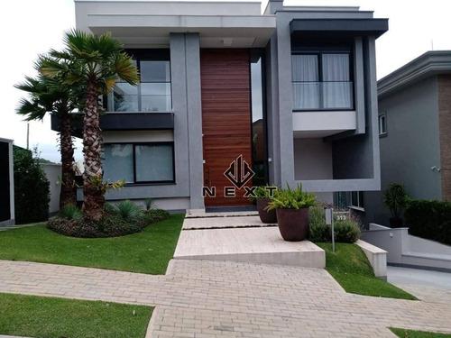 Casa Com 4 Dormitórios À Venda, 482 M² Por R$ 7.800.000,00 - Tamboré 10 - Santana De Parnaíba/sp - Ca0389