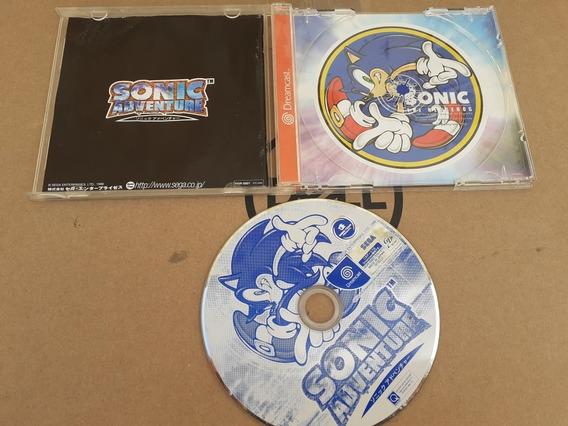 Sonic Adventure Dreamcas Frete Gratis 12x Sem Juros