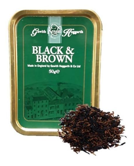 Tabaco Pipa Black And Brown Hoggarth Gawith Lata Tabacos