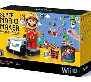 Set Super Mario Maker Consola Deluxe - Nintendo Wii U