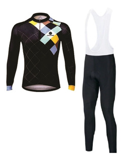 Ropa Ciclismo Jersey Pantalón Bib Largo Uniforme Licra Promo