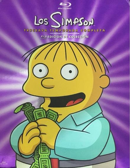 Los Simpson Treceava Temporada 13 Trece Original Blu-ray