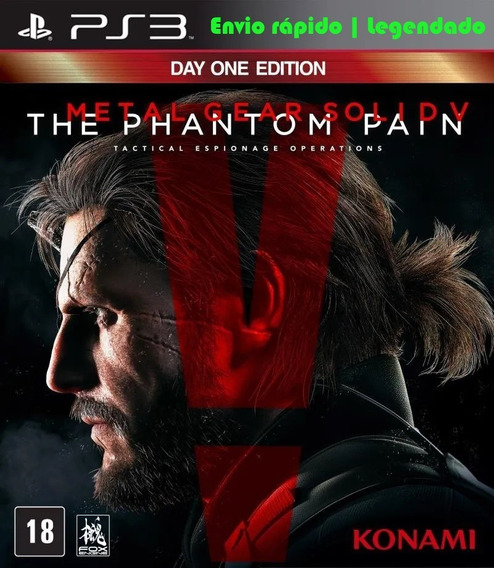 Metal Gear Solid V - Phantom Pain Ps3 Psn Digital