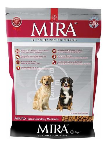 Imagen 1 de 1 de Alimento Mira para perro adulto de raza mediana/grande sabor mix en bolsa de 20kg