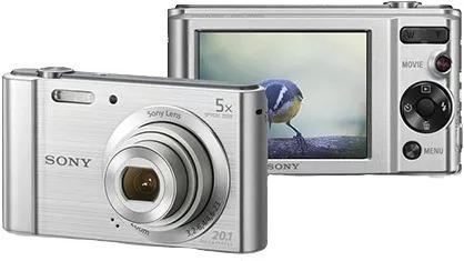 Câmera Digital Sony Dsc-w800 20.1mp Nota Fiscal